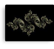 Fractal Dragon Canvas Print