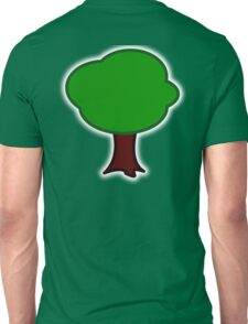 TREE, Cartoon Unisex T-Shirt