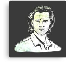 Jared Padalecki - Supernatural - Sam Winchester Canvas Print