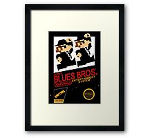 Super Blues Bros. Framed Print