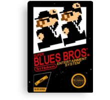 Super Blues Bros. Canvas Print