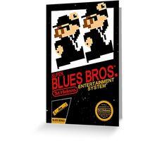 Super Blues Bros. Greeting Card