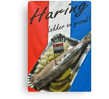 "Haring-  ""herring"" poster- Amsterdam Canvas Print"