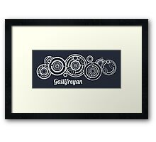 Gallifrey - Doctor Who Framed Print