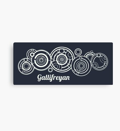 Gallifrey - Doctor Who Canvas Print