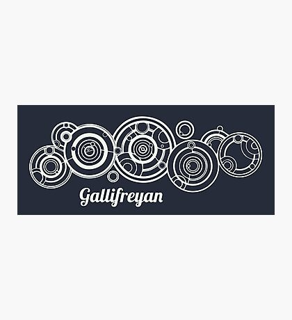 Gallifrey - Doctor Who Photographic Print