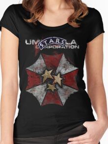 S.T.A.R.S. Prevailed Women's Fitted Scoop T-Shirt