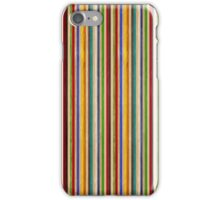 Recycled Skateboard Rainbow Texture iPhone Case/Skin
