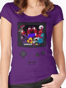 Haunted Game Boy Luigi's Mansion Ver. Women's Fitted Scoop T-Shirt