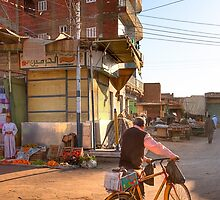 Home Towns - Egyptian Village of Daraw by Mark Tisdale
