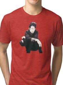 Tom Waits Image Tri-blend T-Shirt