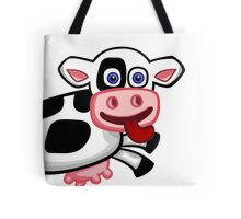 Flying Cow Tote Bag