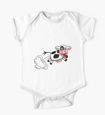 Flying Cow One Piece - Short Sleeve