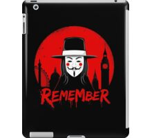 Remember the Fifth iPad Case/Skin