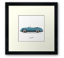 356 Speedster Framed Print