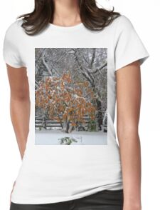Oct Snowstorm 2016 Womens Fitted T-Shirt