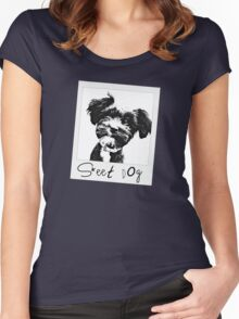 Sweet Dog Women's Fitted Scoop T-Shirt