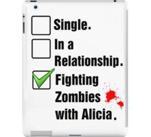 Fighting Zombies iPad Case/Skin