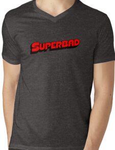 Superbad Logo Mens V-Neck T-Shirt