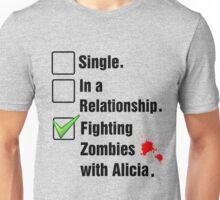 Fighting Zombies Unisex T-Shirt