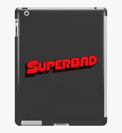 Superbad Logo iPad Case/Skin