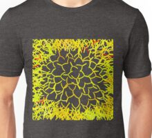 Yellow shining Unisex T-Shirt