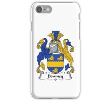 Downey Coat of Arms / Downey Family Crest iPhone Case/Skin