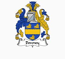 Downey Coat of Arms / Downey Family Crest Unisex T-Shirt