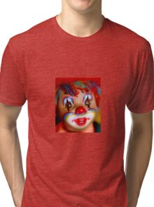 Colorful clown Tri-blend T-Shirt