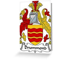 Drummond Coat of Arms / Drummond Family Crest Greeting Card
