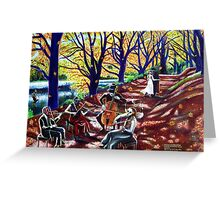 'Autumn Serenade' Greeting Card