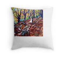 'Autumn Serenade' Throw Pillow