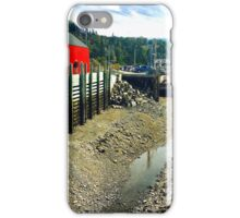 Halls Harbour NS by Snow iPhone Case/Skin