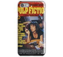The Pulp Fiction Poster iPhone Case/Skin