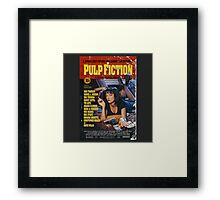 The Pulp Fiction Poster Framed Print