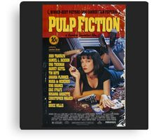 The Pulp Fiction Poster Canvas Print