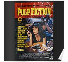The Pulp Fiction Poster Poster