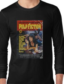 The Pulp Fiction Poster Long Sleeve T-Shirt