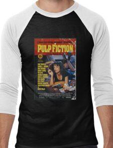 The Pulp Fiction Poster Men's Baseball ¾ T-Shirt