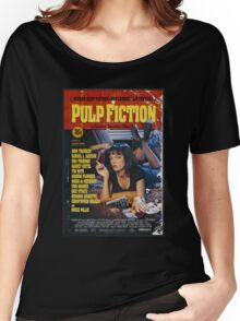 The Pulp Fiction Poster Women's Relaxed Fit T-Shirt