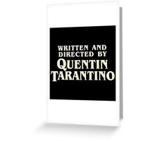 Pulp Fiction By Quentin Tarantino Greeting Card