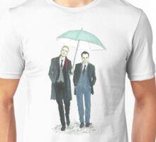 Umbrella Mormor Unisex T-Shirt