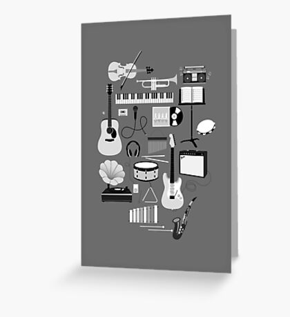 Music Things Greeting Card