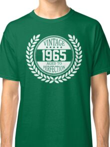Vintage 1965 Aged To Perfection Classic T-Shirt