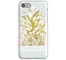 Golden Pineapple iPhone Case/Skin