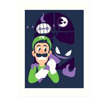 Haunter's Mansion Art Print