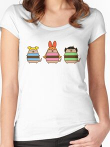 Power Pup Girls Women's Fitted Scoop T-Shirt