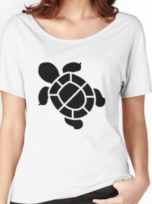 Tortoise Silhouette Women's Relaxed Fit T-Shirt