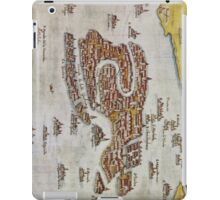 Vintage Map of Venice (1649)  iPad Case/Skin
