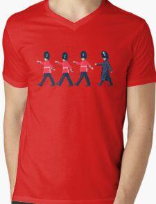 Off Guard Mens V-Neck T-Shirt